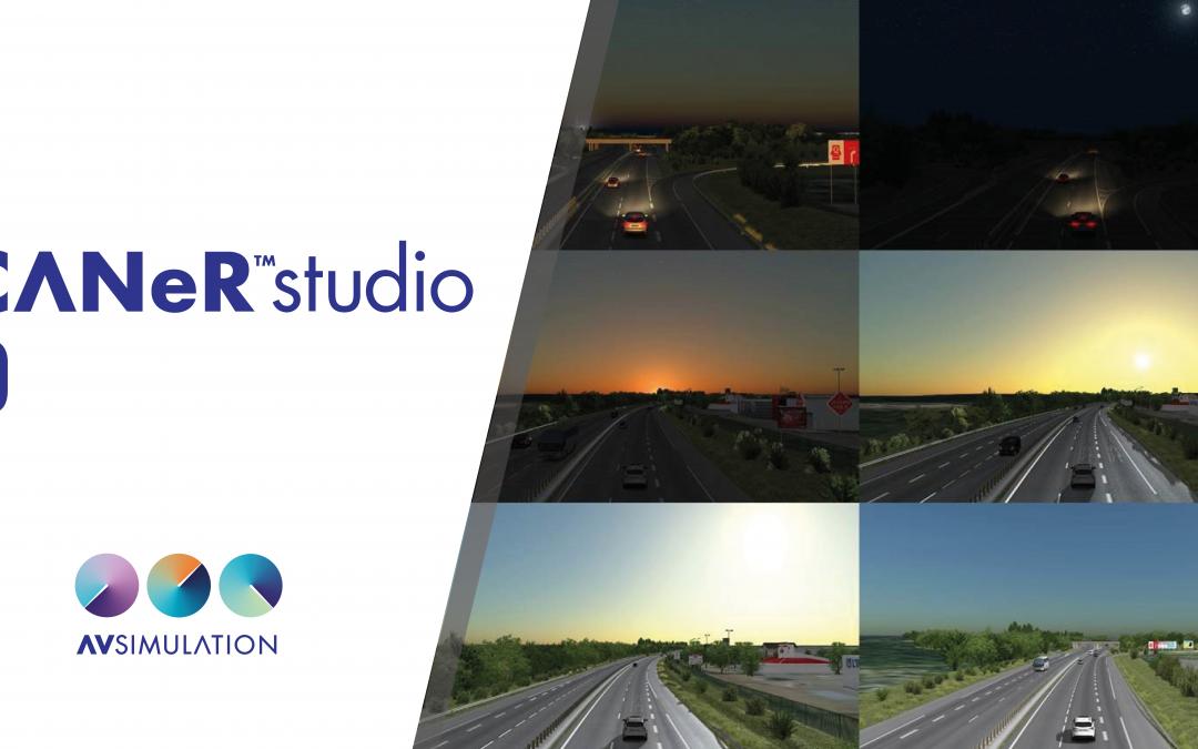 SCANeR studio 1.9 is out !