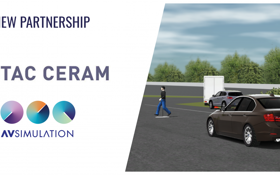 The simulation of the main regulatory and Euro NCAP type test protocols is now available thanks to AVSimulation and UTAC CERAM