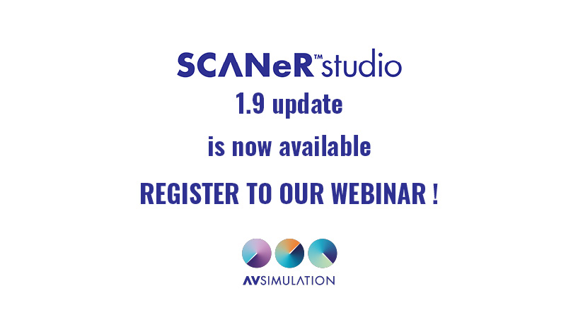 SCANeR studio 1.9 update is out !