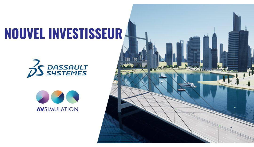 Dassault Systèmes entre au capital de AVSimulation